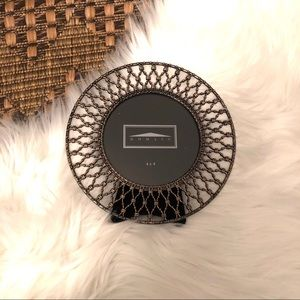Brass Lattice Picture Frame NWT